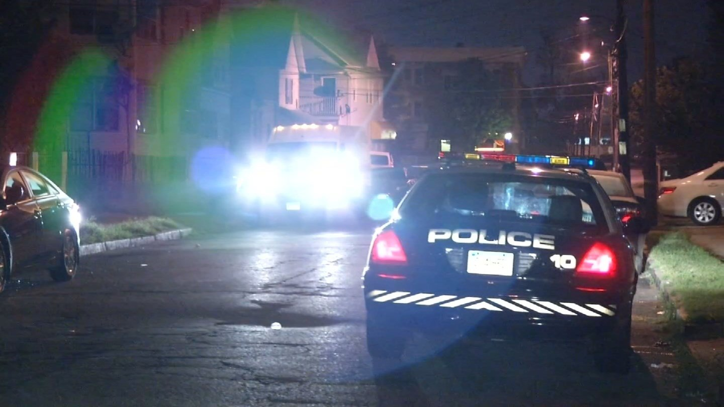 One person was reportedly shot on Standish Street early Thursday morning. (WFSB photo)