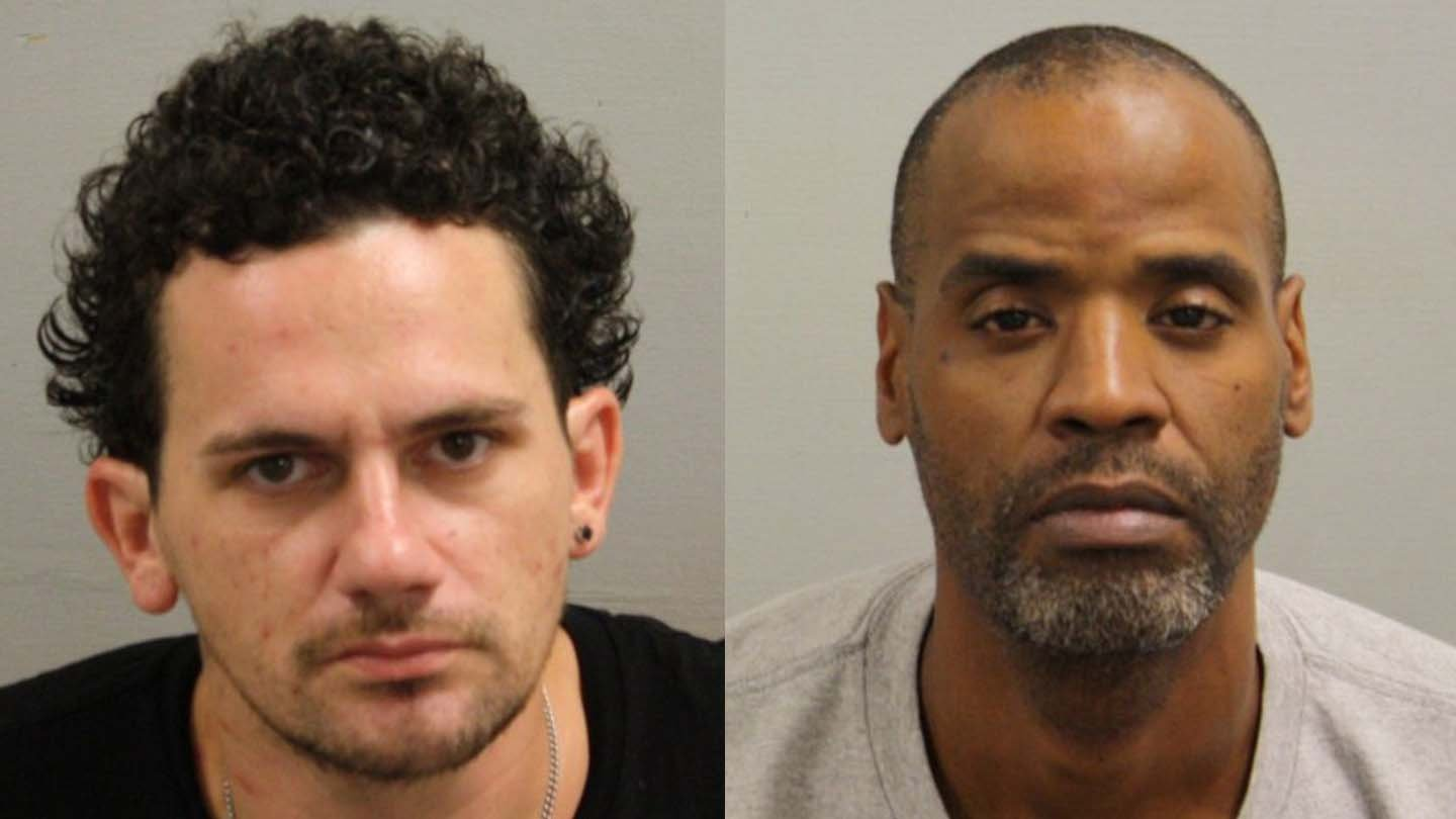 Matthew Aylward and Roderick Mack. (Bristol police photos)