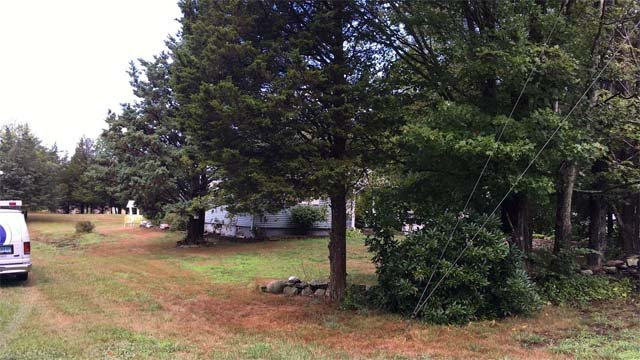 Montville home hit by lightning Thursday morning (WFSB)