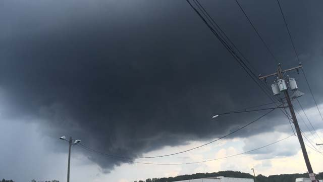 Dark clouds in Suffield (Christian Alicea)