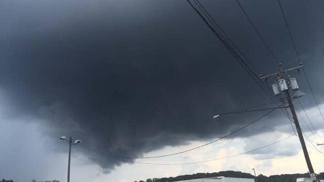 Dark clouds in Suffield (Christian Alicea)
