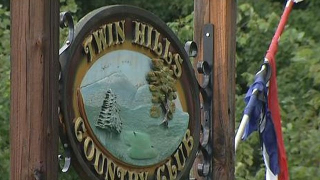 The person was struck at theTwin Hills Country Club in Coventry. (WFSB)