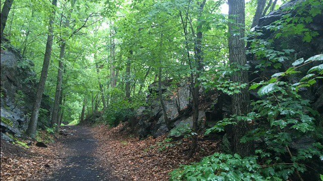 One-time railroad passage turned biking, hiking trail