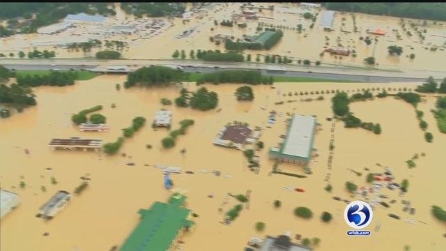 The Connecticut chapter of the Red Cross sending volunteers to Louisiana. (WFSB)