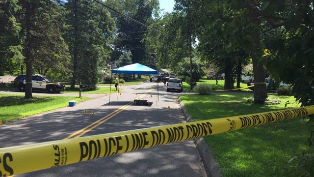A person was killed on Savage Street in Southington. (WFSB photo)