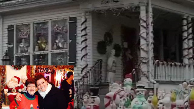 Owner of New Britain Christmas House passes away (WFSB/Erin Stewart).