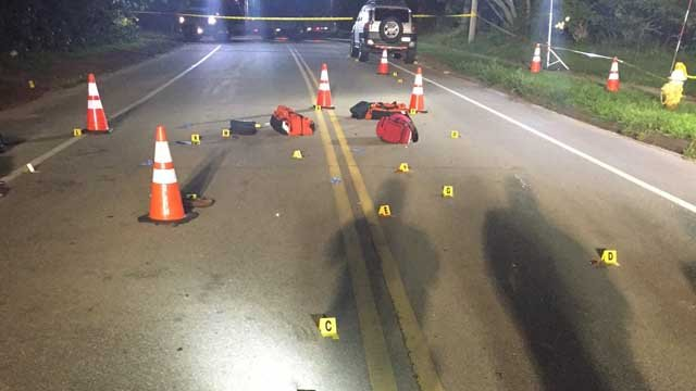 A person was killed after being hit by a car in Old Saybrook on Tuesday. (Old Saybrook Police)