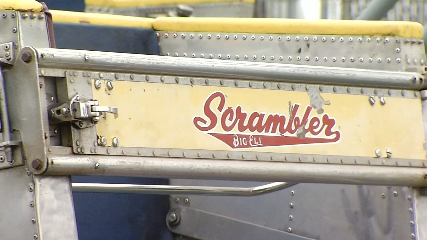 Six people were shocked on the Scrambler at Ocean Beach Park in New London Tuesday. (WFSB photo)