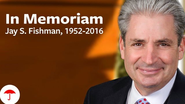 Former Travelers CEO Jay Fishman died Friday. (WFSB)