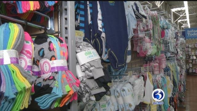 Clothing and many accessories will be tax-free during the week of Aug. 20 in Connecticut. (WFSB file photo)