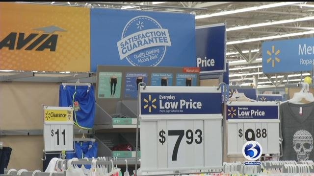 Stores such as Walmart offer savings for back-to-school shopping even during tax-free. (WFSB)