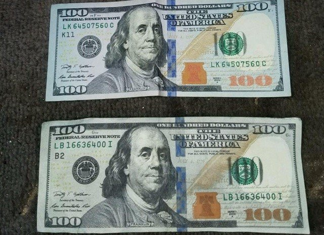 A man was scammed with fake money over the weekend. (WFSB)