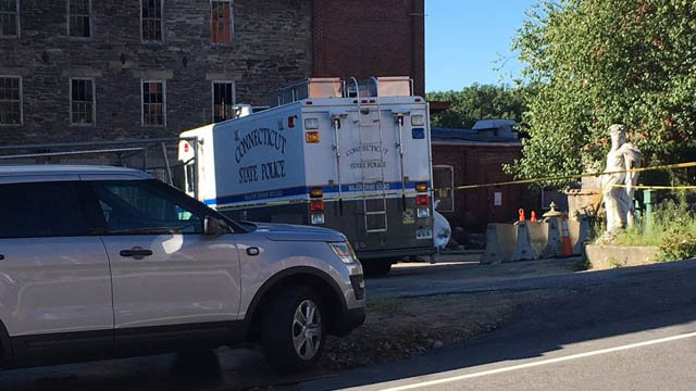 State and local police are investigating a shooting in Putnam. (WFSB photo)