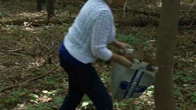 Neighbors in Southington are tired of constant partying near their homes. (WFSB)