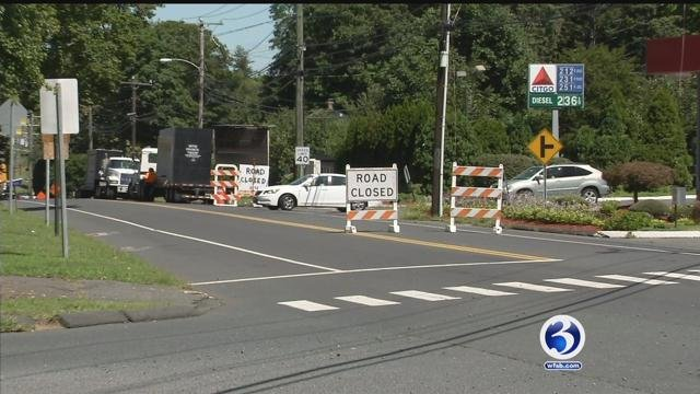 Construction in Rocky Hill is causing confusion for drivers. (WFSB)