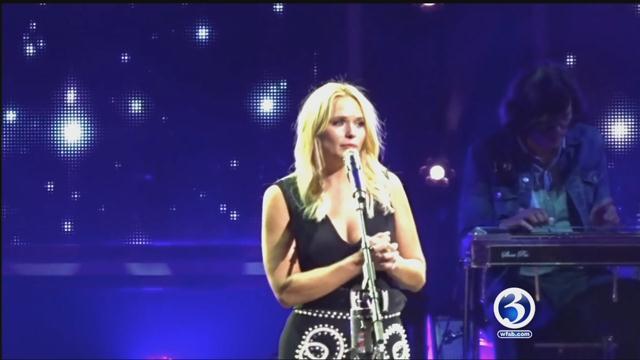 A Norwich veteran caught the eye of Miranda Lambert at XFINITY Theater (YouTube)