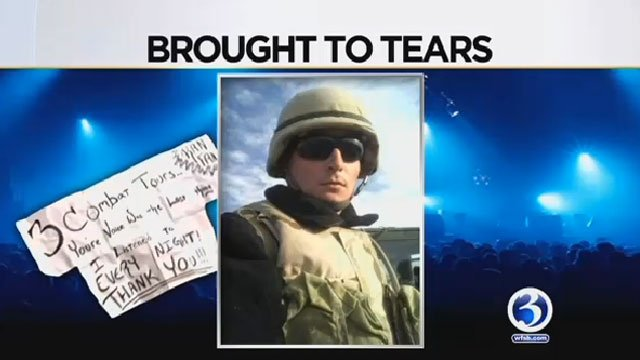 Norwich veteran Jeff Tudisca is going to meet Miranda Lambert this weekend. (WFSB)