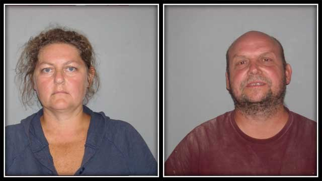A Chester couple is facing animal abuse charges. (CT State Police)