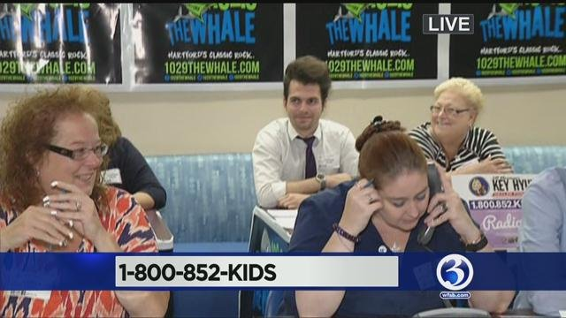 The 14th annual Radiothon from the Connecticut Children's Medical Center. (WFSB photo)