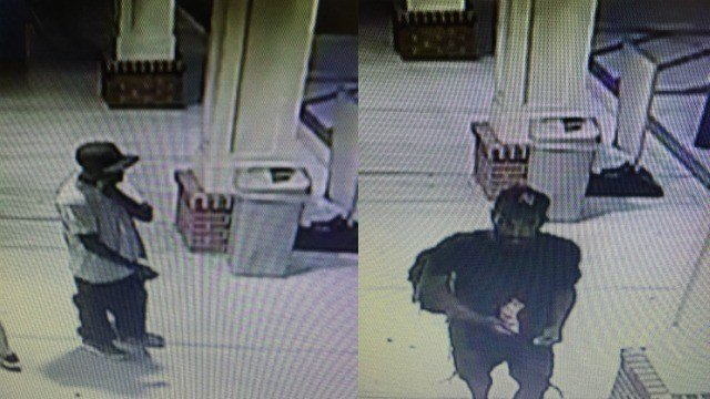 Police said these two men robbed a CVS in Suffield Thursday. (Suffield PD)