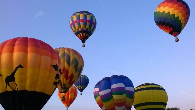 The annual Balloon Festival begins Friday night. (WFSB)