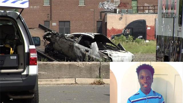 Jamaire Smith was killed in a stolen car crash Wednesday night in Hartford. (WFSB photo)