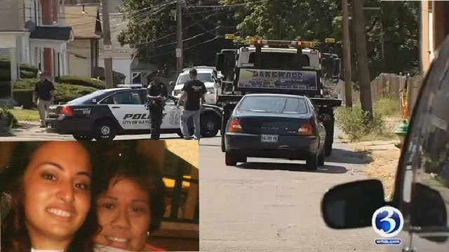 Jannette Rodriguez speaks out about her cousin who was killed in Waterbury. (WFSB)