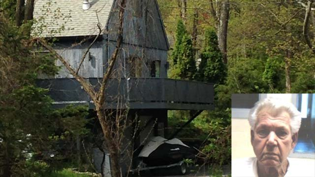 Robert Stackowitz was found at a home in Sherman after 48 years on the run. (WFSB file/CT DOC photo)