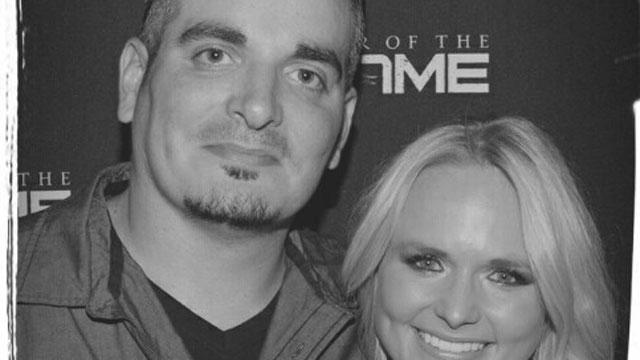Jeff Tudisca took at photo with country Miranda Lambert on Friday night. (Jeff Tudisca)