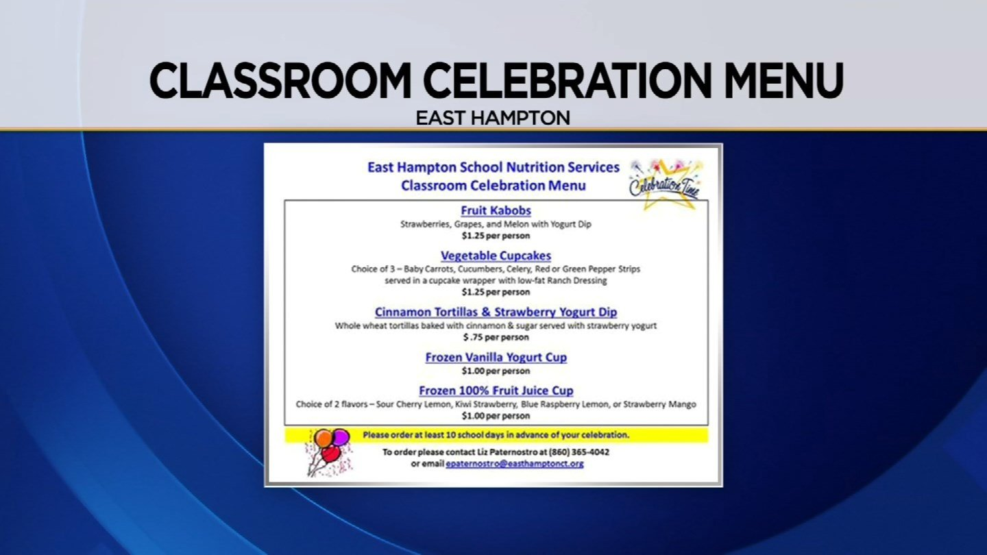 Children and parents are not thrilled about school sanctioned birthday meals (WFSB)