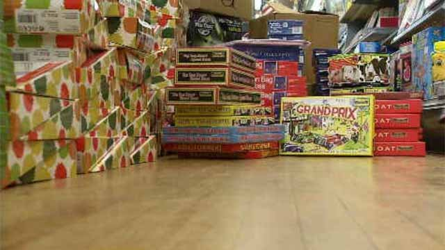 A couple from New Britain is bringing a truckload of toys to Louisiana this week. (WFSB)