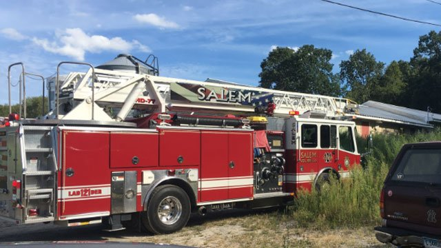 Firefighters are investigating fires in Salem. (WFSB)