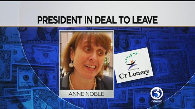 CT Lottery President and CEO Anne Noble is leaving the organization. (WFSB)