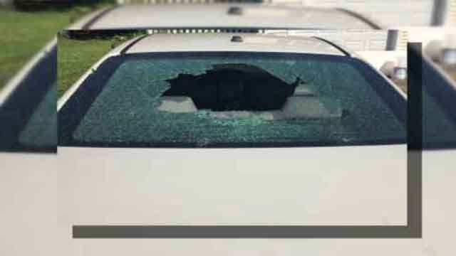 A Southington man's car has been vandalized twice in one month by a BB gun. (Justin Nogueira photo)