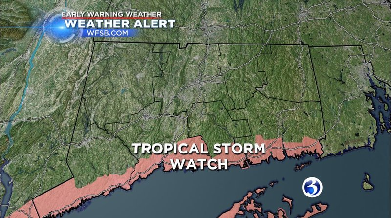 Tropical storm Hermine predicted to stay off the Connecticut coa