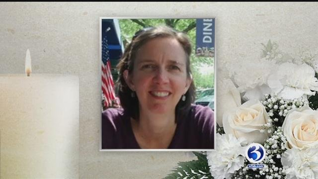 Anne Dombrofski is a mother of two died in a tragic bicycling accident while wearing a helmet. (WFSB)