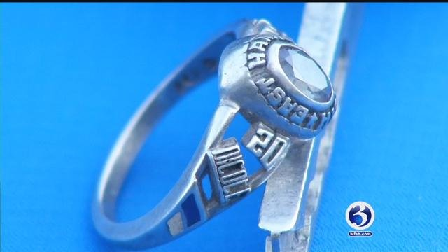 This East Hampton class ring was returned to its rightful owner. (WFSB)