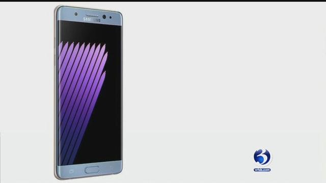 Two weeks after the release of Samsung's new phone, they're being pulled from the shelves. (Samsung)