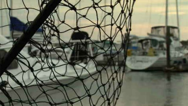 The owners of the Cedar Island Marina urged boaters to take extra precautions ahead of this storm. (WFSB)