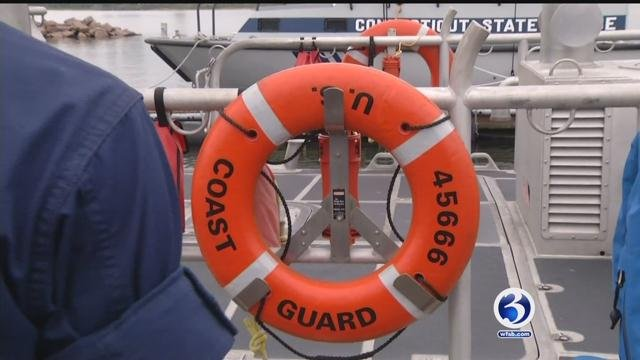 The U.S. Coast Guard has rescued three people from a capsized catamaran. (WFSB file photo)