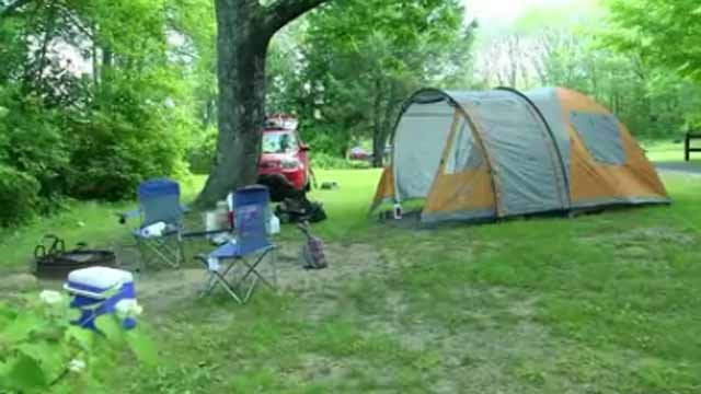 Gov. Malloy orders closure of state campgrounds ahead of Hermine. (WFSB file photo)