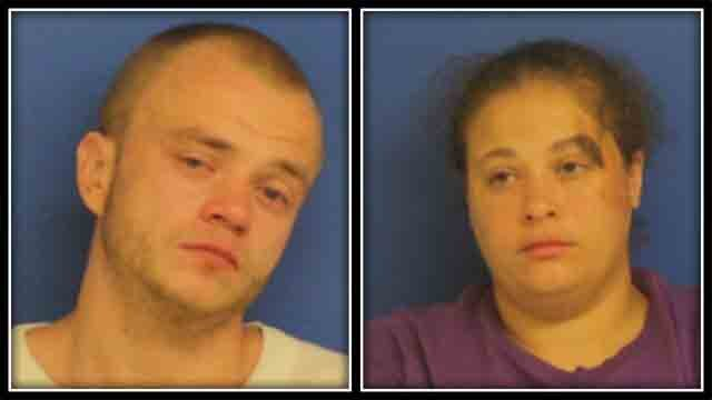 Police arrested 27-year-old Jonathan Perdue, of East Haven, and 36-year-old Tanya La Kierce, of Wallingford. (East Haven Police)