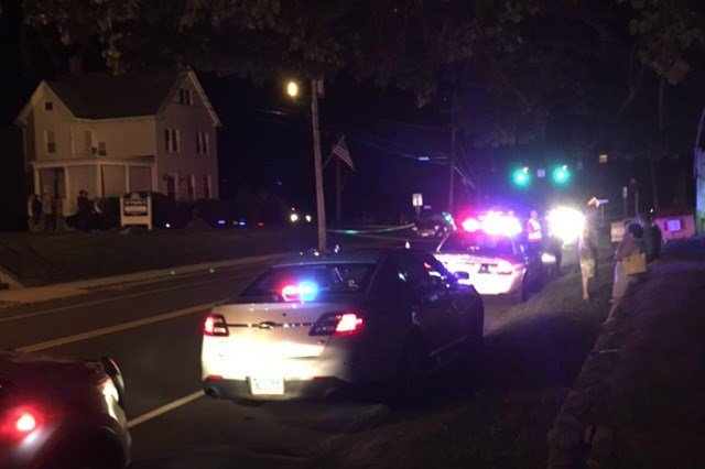 A police officer is recovering after being struck by an SUV while directing traffic (WFSB)