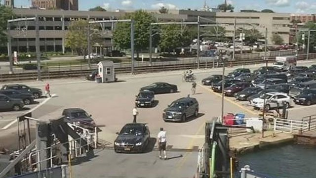 Cross Sound Ferry Service service was operating on its regular schedule on Monday. (WFSB)