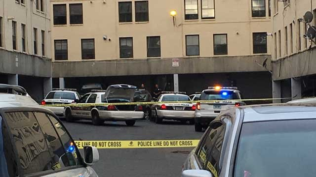 An officer-involved shooting was reported in New Haven Tuesday morning. (WFSB photo)