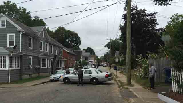 A police investigation prompted a lockdown at Willimantic schools on Tuesday. (WFSB)