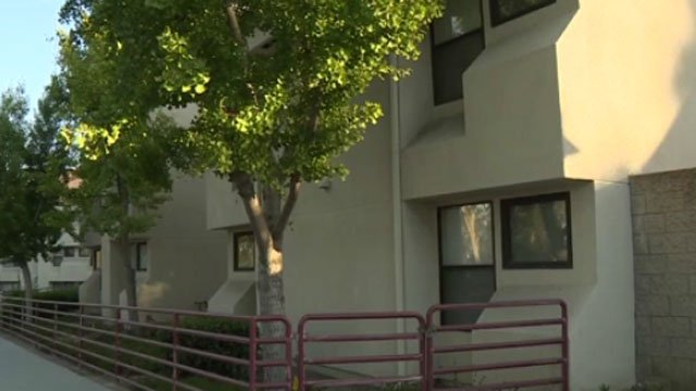 Cal State Los Angeles recently set aside 20 spots in a dorm complex for black students. The decision has caused controversy. (CBS)
