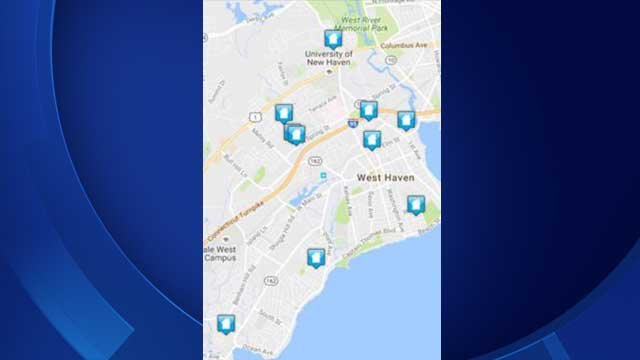 Police identify where home burglaries have been reported (West Haven police)