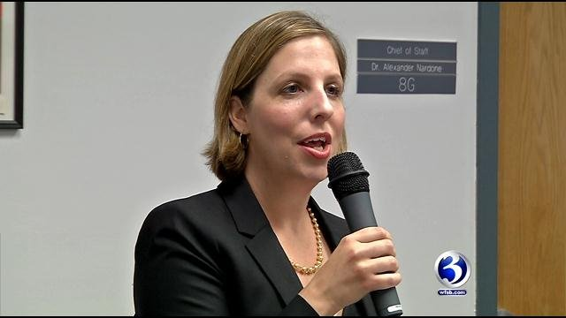 Beth Schiavino-Narvaez is stepping down from her position as superintendent of Hartford Public Schools. (WFSB file)
