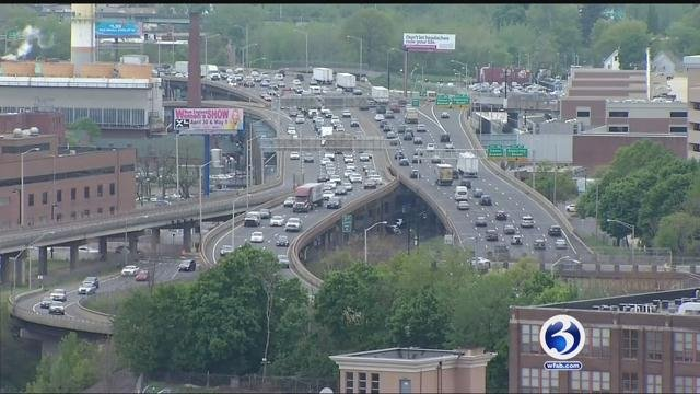 Drawings to replace the I-84 viaduct were revealed on Thursday (WFSB)